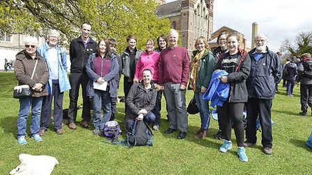 St Albans Diocese's Easter Monday pilgrimage. Picture: Arun Kataria