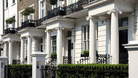 High end apartments are selling in ever increasing numbers in the capital