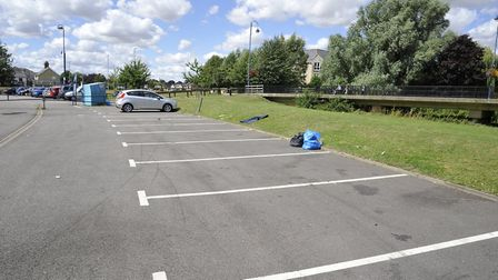 Riverside car park, in St Neots, will be among the car parks reviewed as part of the report.