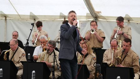 Opus 17, pictured at a previous gig, are set to put on a contemporary concert in Royston with vocali