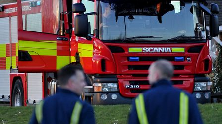 Moped believed to be deliberately set alight in St Albans.