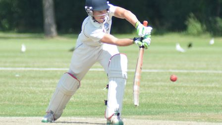 Tom McCarthy starred with bat and ball as St Ives were beaten at Godmanchester Town.