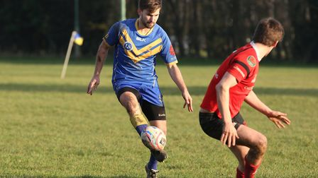 Tom Maile scored two tries, five conversions and one penalty as Verulamians retained the Herts Presi