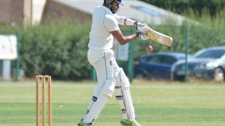 Nikhil Kumpukkal top-scored for St Ives as they were beaten by Waresley.