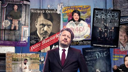 Comedian Richard Herring brings his latest stand-up tour to St Albans