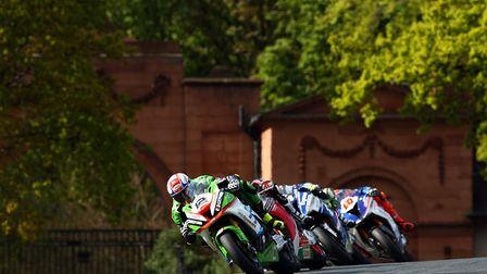 Luke Mossey in action at Oulton Park. Picture: Tim Keeton