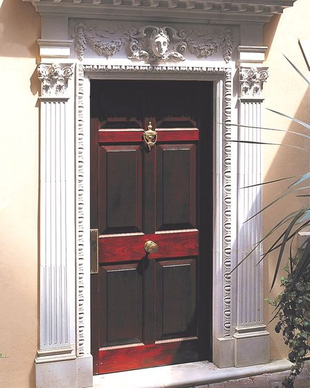 This William Kent door surround recreates the style of the prolific 18th-century architect and adds