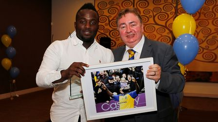 Junior Morias won St Albans City's goal of the year. Picture: LEIGH PAGE