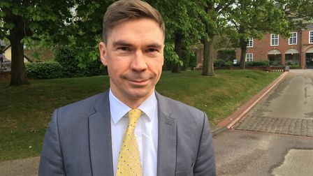 Hugh Annand, Lib Dem candidate for Hitchin and Harpenden.
