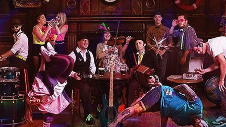 The Demon Barbers will perform at this year's St Neots Folk Festival