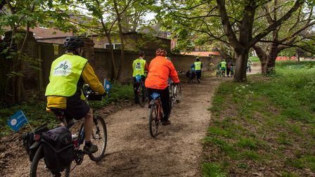 Bike tracks will be under discussion at the meeting. Credit: St Albans Cycle Campaign
