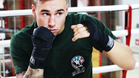 St Ives boxer Bradley Smith returns to the ring on Friday night.
