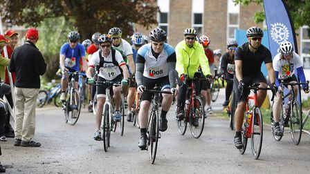St Albans Rotary Charity Cycle RidePicture: Karyn Haddon