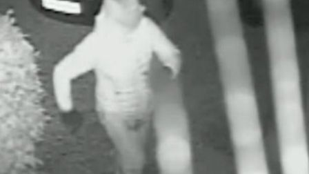 Officers investigating a burglary in Therfield have released an image of a man they would like to sp