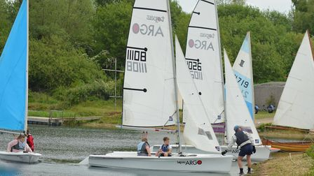 An open day was held at Paxton Lakes Sailing Club.