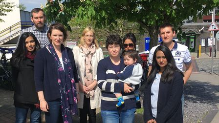 A group of parents whose children have been allocated schools miles from where they live