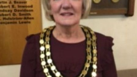 Vera Swallow is the new town mayor of Royston.