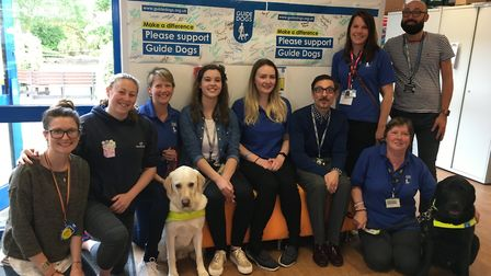 Oaklands College with Guide Dogs UK