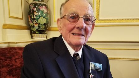 Holywell House Publishing launched their first book - Veteran Frank Witton attended