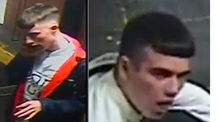 Photos released by police after an incident at Upper Dagnall Street