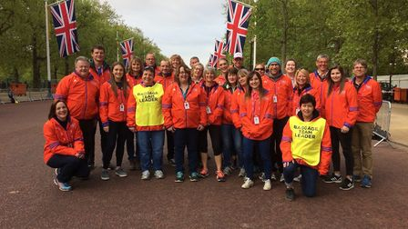 The Baggage team featuring Royston Runners.