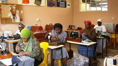 Royston Rotary Club have raised funds for sewing machines in South Africa