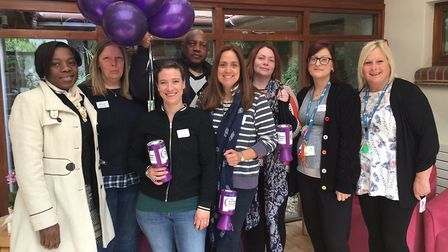 Hightown Housing Association chose to help out Rennie Grove Hospice in St Albans