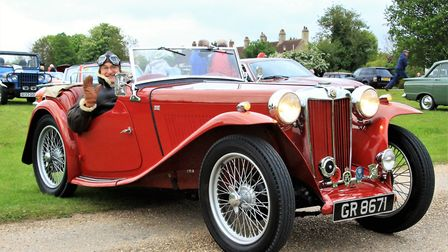 This 1946 MG TC belongs to Peter Ganczakowski Picture: Clive Porter