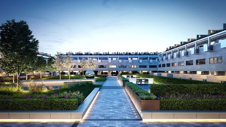 The development comprises of 80 swanky new homes