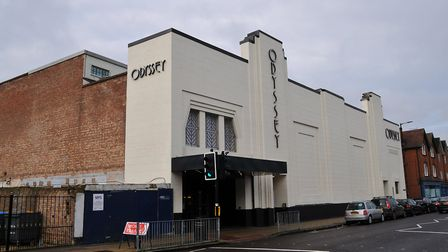 The Odyssey cinema is directly opposite Gabriel Square on London Road