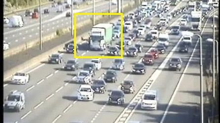 Highways England? @HighwaysEAST is warning of delays on the M1 northbound at Junction 6A. Picture: