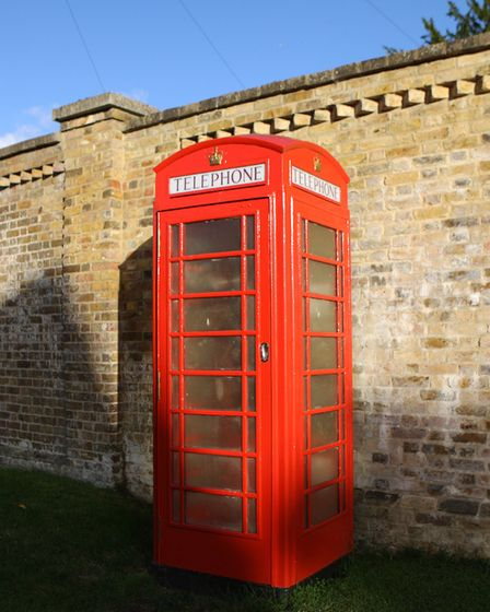 This quintessential English village even has a traditional telephone box