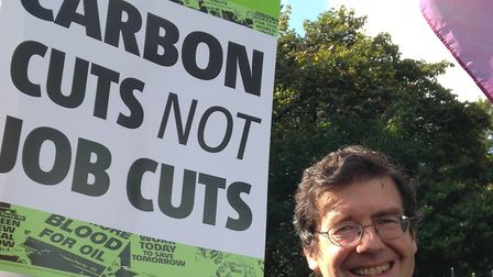 Former Green Party candidate for St Albans Jack Easton