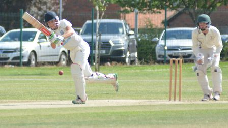 Tom McCarthy top-scored in St Ives' first win of the season.