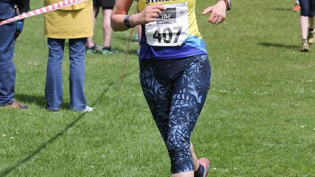 St Albans Striders' Kate Tettmar at the Wheathampstead 10k. Picture: CHRIS BARR