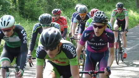 Verulam ReallyMoving's Michael Parry finished seventh in the Finchley RT road race.