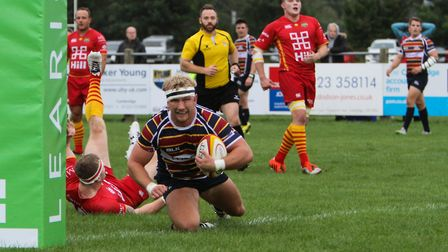 Harry Bate is one of two from Old Albanian to be called up by England Counties. Picture: NEIL BALDWI
