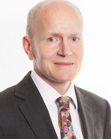Cllr Alec Campbell has been elected the new leader of St Albans council. Picture: James Ward/St Alba