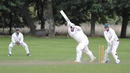 Ramsey batsman Taylor West is topping the leaderboard