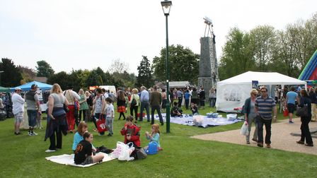 The May Fayre is a popular event in Royston's calendar.
