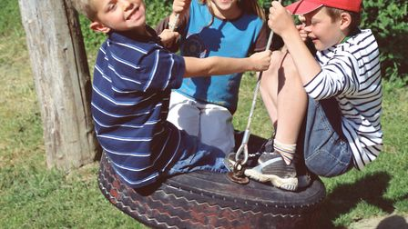 Good VFM: A tyre swing is easy to make and great value