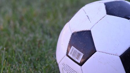 A football in the grass. Photo: Weloc