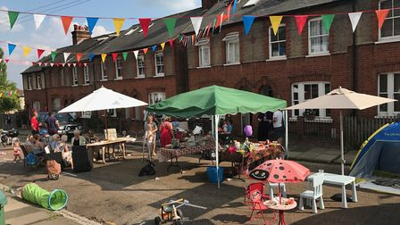 Hart Road street party