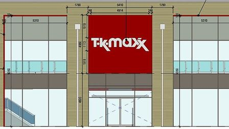 Fashion and home retailer TK Maxx has submitted plans for a new store.