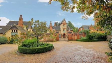 The country pile: This Brookman's Park property has featured on London ITV's property show Live The