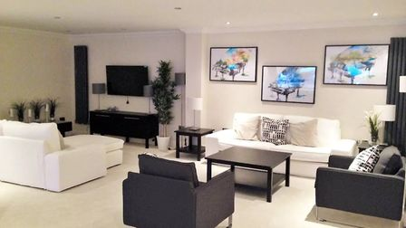 The showhome, Harpenden