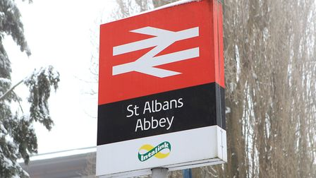 Trespassers on railway between St Albans and Watford cause cancellations.
