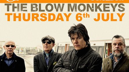 The Blow Monkeys will be appearing at The Horn in St Albans in Thursday, July 6