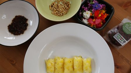 The ingredients for Herts Advertiser reporter Franki Berry's pineapple cannelloni dish. Picture: Dan