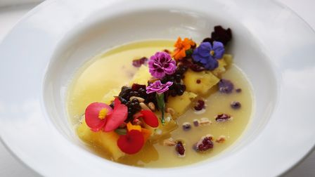 Herts Advertiser reporter Frankie Berry's pineapple cannelloni dish. Picture: Danny Loo